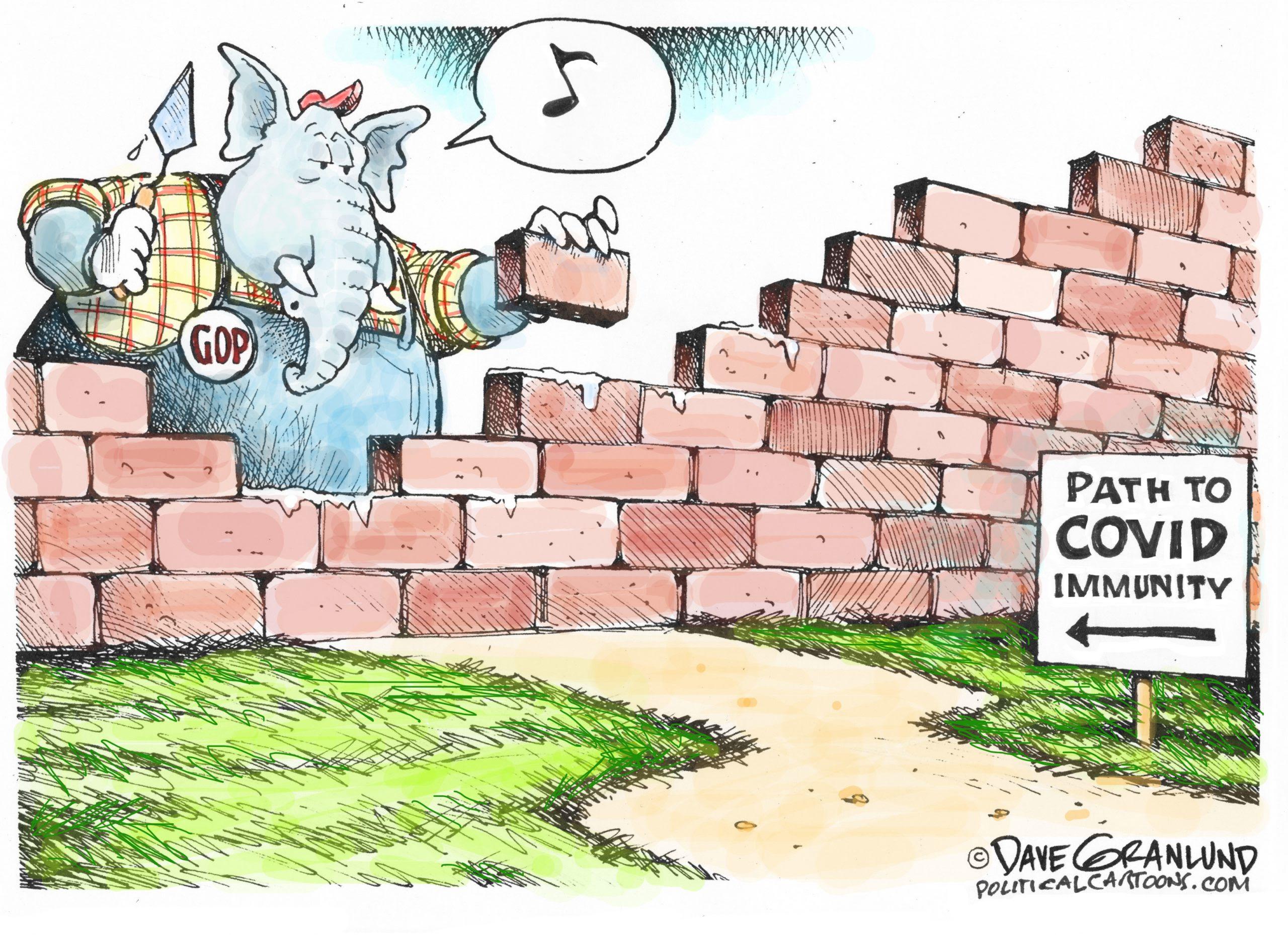 Republicans block path to COVID immunity