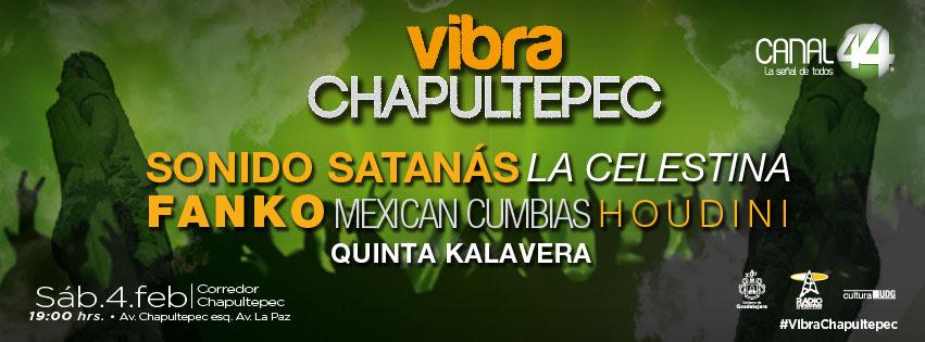 Fanko Vibra Chapultepec