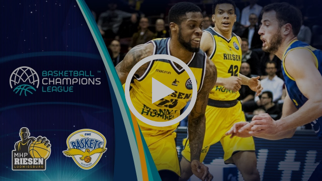 MHP Riesen Ludwigsburg v EWE Baskets Oldenburg - Highlights - Basketball Champions League