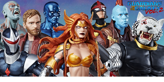 GUARDIANS OF THE GALAXY VOL. 02 LEGENDS FIGURES