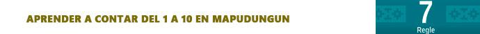 render a contar del 1 a 10 en Mapudungun