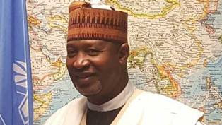 * Aviation Minister, Senator Hadi Sirika