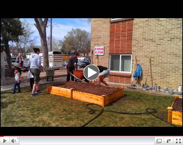 ULC Earth Day at Dahlia Apartments