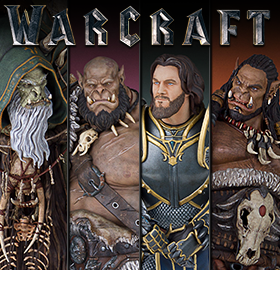 WARCRAFT STATUES