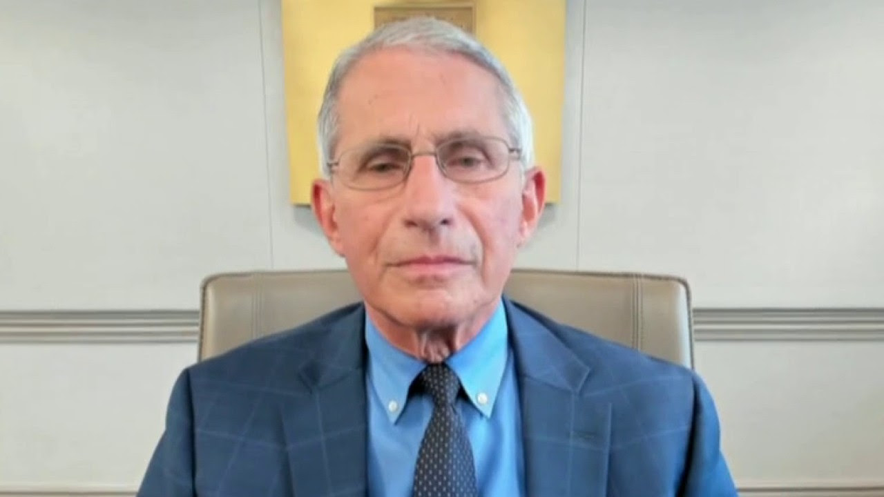 Dr. Anthony Fauci on a conference call
