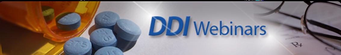 DDI Webinars Banner