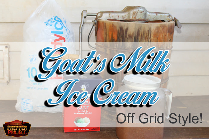 Off Grid Goat's Milk Ice Cream