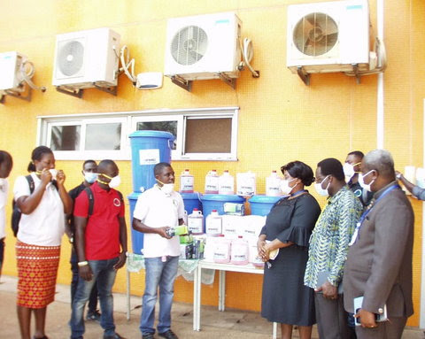 UPNMG also donated to the Komfo Anokye Teaching Hospital