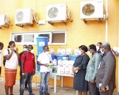 UPNMG also donated to the Komfo Anokye Teaching Hospital
