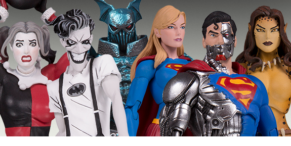 DC COLLECTIBLES STATUES & FIGURES