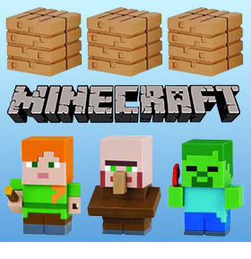 MINECRAFT MINI-KESHI COLLECTIONS