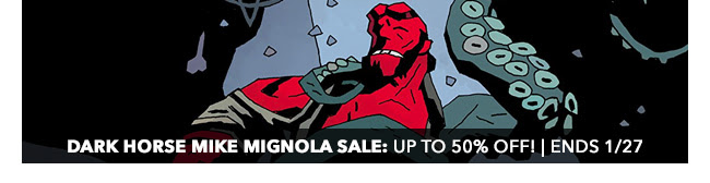 Dark Horse Mike Mignola Sale: up to 50% off! | Ends 1/27
