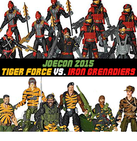 JoeCon 2015 Tiger Force Vs. Iron Grenadiers Box Set
