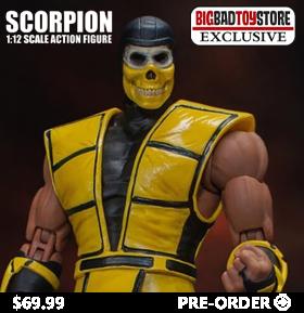 Mortal Kombat 3 VS Series Scorpion 1/12 Scale BBTS Exclusive Figure