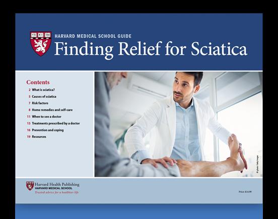 Finding Relief for Sciatica