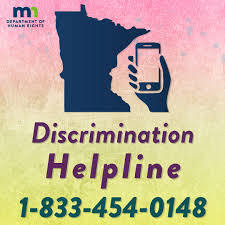 Discrimination helpline