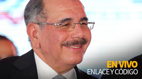 Espere a las cuatro de la tarde en vivo por este medio el acto del presidente Danilo Medina en la entrega de La Nueva Barquita