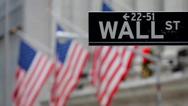 La señal de Wall Street en Nueva York, EEUU - Sputnik Mundo