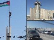 Fotografías del checkpoint de Qalandia e imagen de Ramallah.