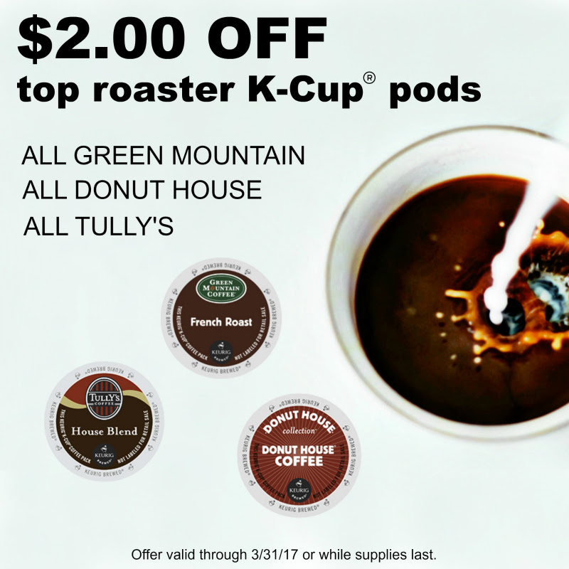 Get $2.00 off top roaster Keur...