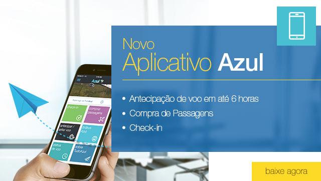 Descubra as facilidades do app Azul