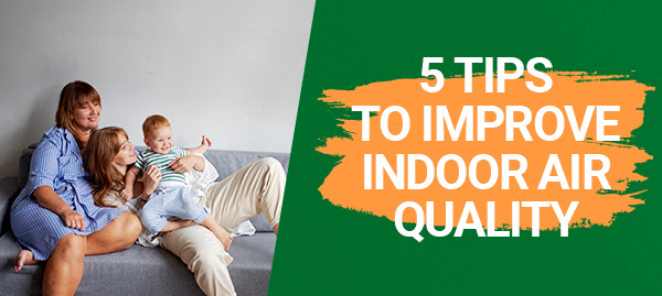 5 Tips to Improve Indoor Air Quality