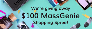 We're giving you a $100 MassGenie shopping spree to experience the fun of crowd shopping and lower prices on the products you love.