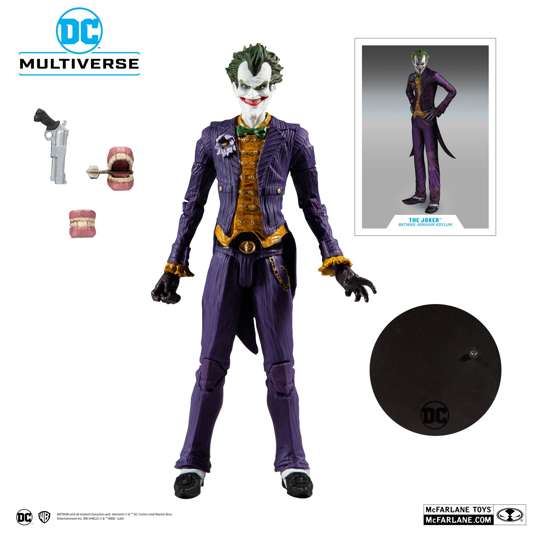Image of DC Multiverse - The Joker (Batman: Arkham Asylum)