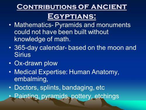 Egyptian Mathematics -1
