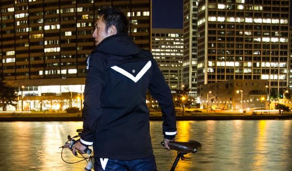Black Bike to Work Jacket