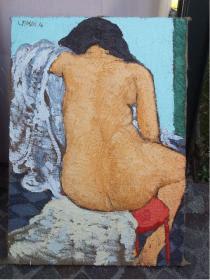 Luigi Masin, Toilette. Colore e bronzo