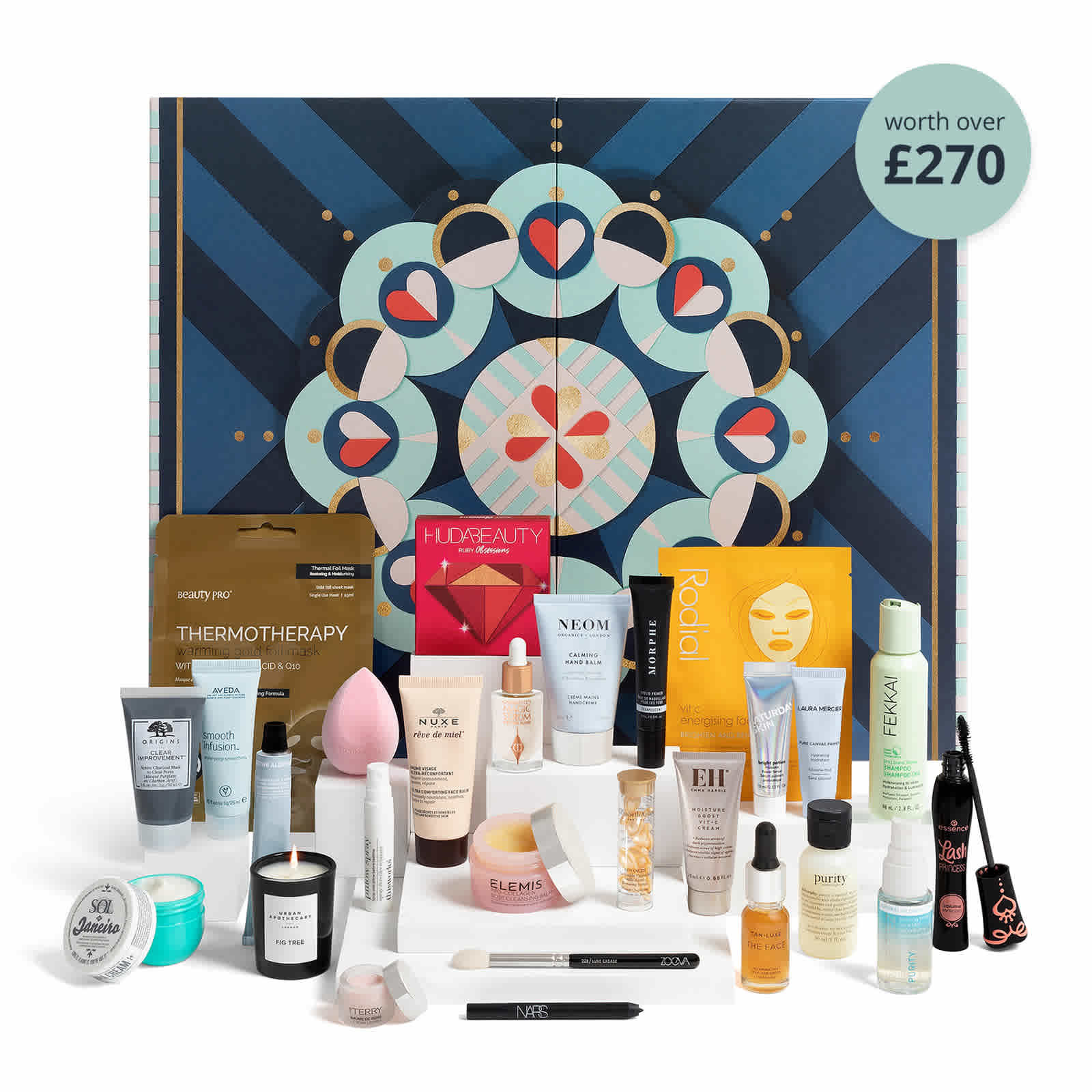 beauty advent calendar from feel unique