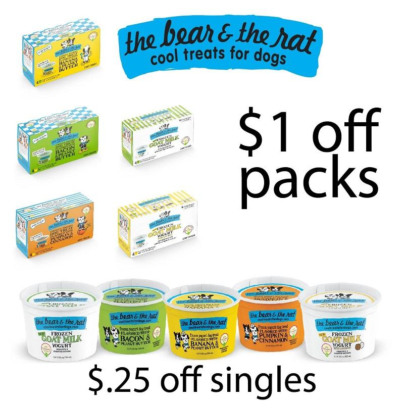 $1.00 OFF Frozen Yogurt 4 PACKS or $.25 OFF Frozen Yogurt SINGLE cups.