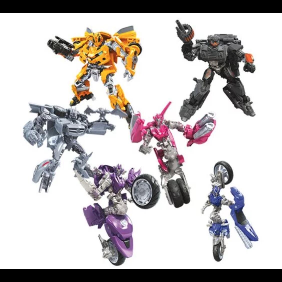 Image of Transformers Studio Series Premier Deluxe Wave 8 - Set of 4 (RE-STOCK)