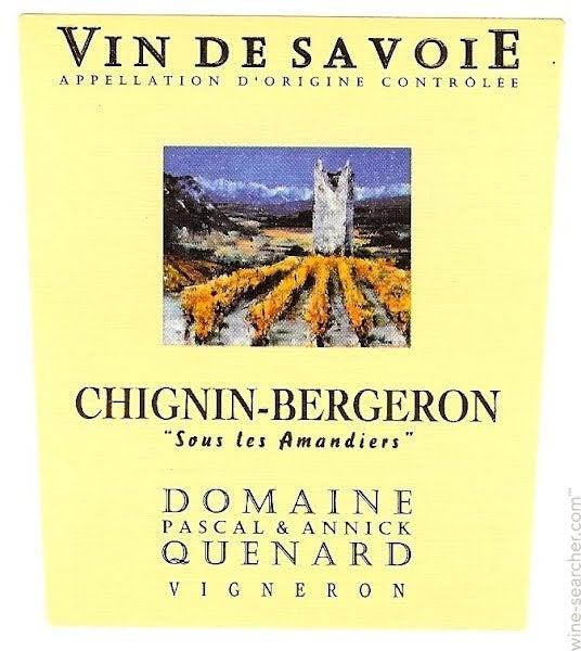 Domaine Pascal & Annick Quenard Savoie Chignin ... | prices ...