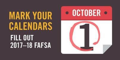 Fill out FAFSA