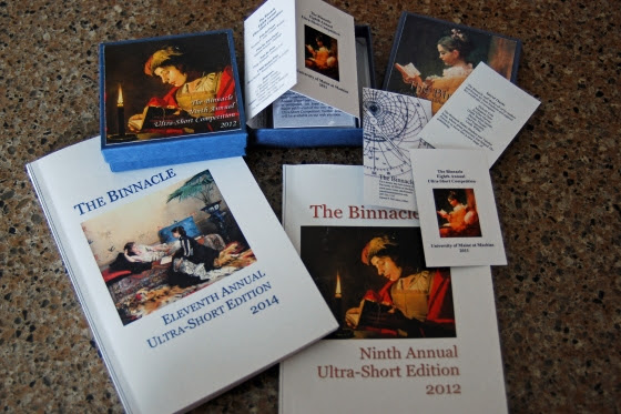 The Binnacle Annual International Ultra-Short Competition is a free contest that seeks poems with 16 lines or less. This year's deadline is March 15, 2015.
