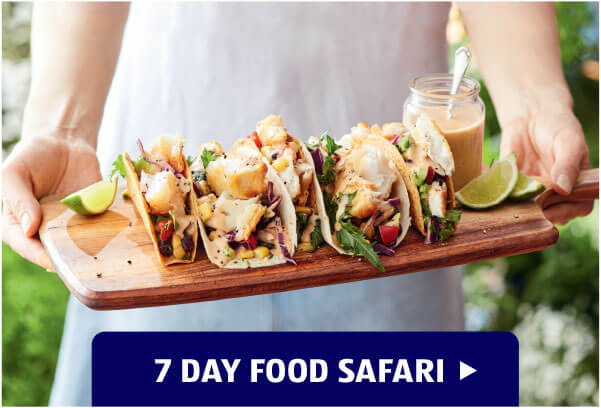 7 day food safari