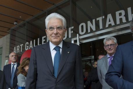 Visita Mattarella in Canada © ANSA