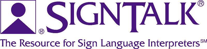 SignTalk logo