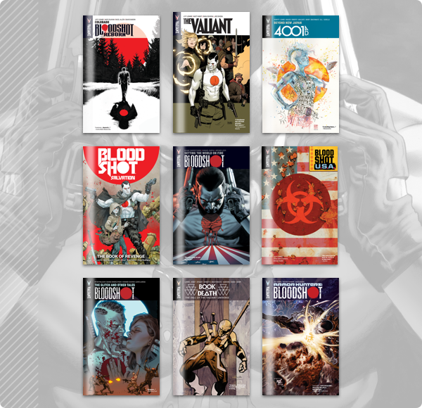 Humble Comics Bundle: Bloodshot 2020 by Valiant