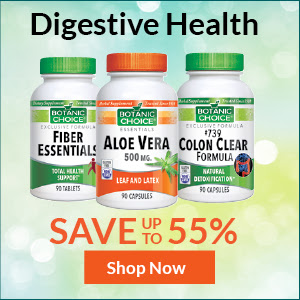 Save up to 55% with Digestive Health