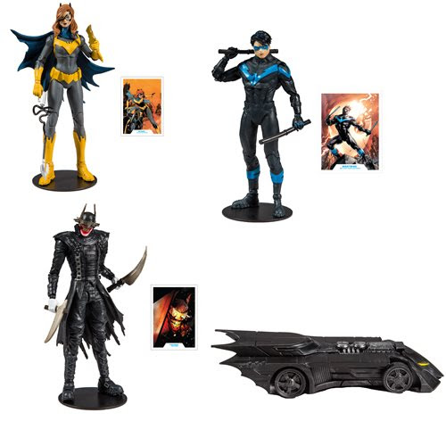 """Image of DC Collector Wave 1 - 7"""" Action Figure Set of 3"""