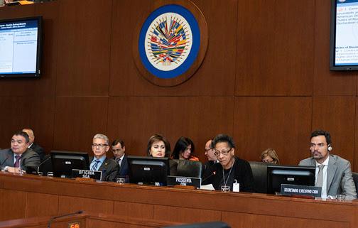 Consejo Permanente de la OEA conmemora el 70 aniversario de declaraciones de derechos humanos