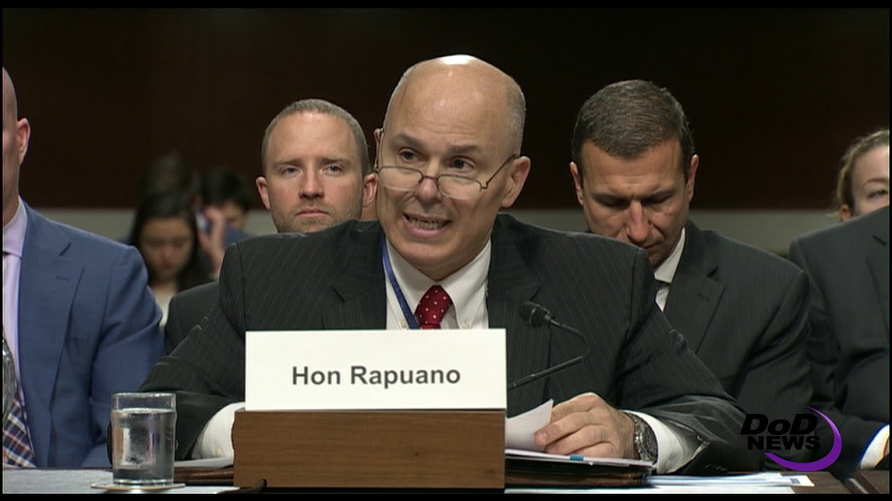 Rapuano Discusses Cyber Defense at SASC Hearing