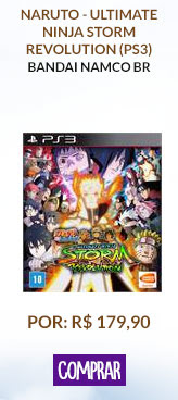 NARUTO - ULTIMATE NINJA STORM REVOLUTION (PS3)