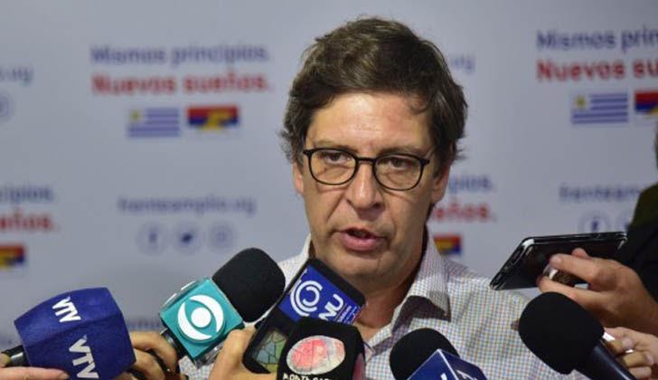 Presidente del Frente Amplio, Javier Miranda.