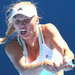 Caroline Wozniacki on her way to victory Tuesday against Lourdes Domínguez Lino of Spain at the Australian Open in Melbourne. Her engagement to the golfer Rory McIlroy has been one of the big off-court topics of discussion in tennis this year.