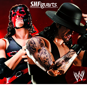 S.H.FIGUARTS WWE UNDERTAKER AND KANE