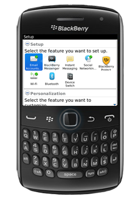 EAC Directory; Blackberry Mail Settings